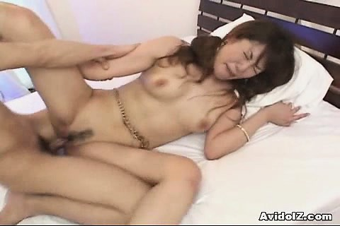 Porno Video of Japanese Girl Takes On Two Stiff Cocks Uncensored