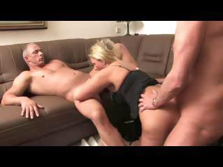 Sex Movie of Hot German Mature Threesome