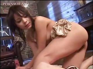 Porn Tube of Asian Dude Is Blindfolded And Has His Cock Teased Then She Sits On His Face