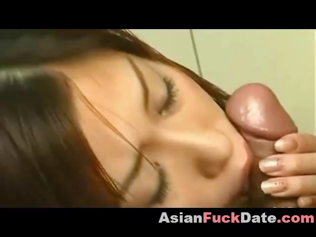 Porno Video of Asian, Whore, Sperm, Covered