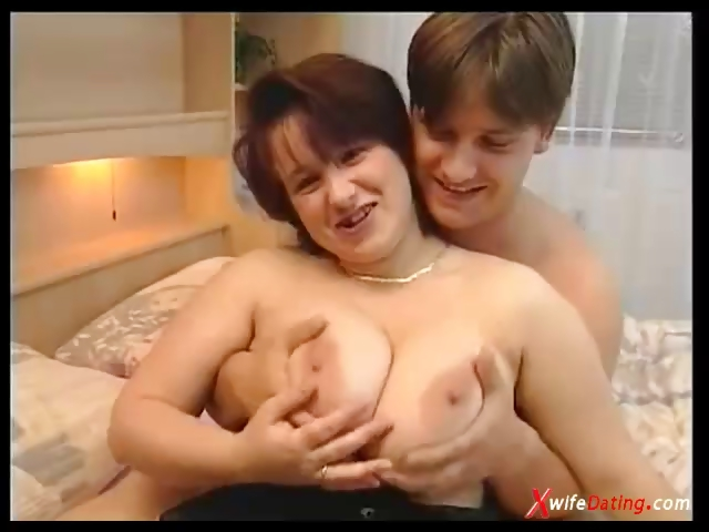 Porn Tube of Busty European Housewife Fucked Hard