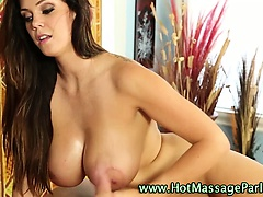 Masseuse client handjob cumshot | Big Boobs Update