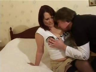 Porn Tube of Mature British Housewife Christina Gets Another Man To Fuckher