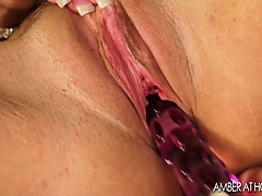 Big tit milf masturbating her meaty pussy lips | Big Boobs Update