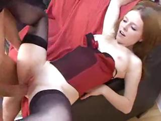Sex Movie of Summer Is A Sweet Young Redhead Who Loves Getting Stuffed With Huge Cocks