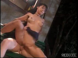 Porn Tube of Skinny Asian Babe Gets Her Sweet Tight Hole Enlarged By A Big Cock