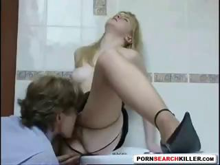 Sex Movie of Russian Aunt Has To Fuck