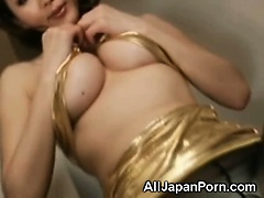 Japanese babe in pantyhose | Big Boobs Update