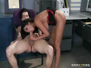Sex Movie of Busty Indian Babe Priya Rai Gets Licked And A Cock In Her Ass