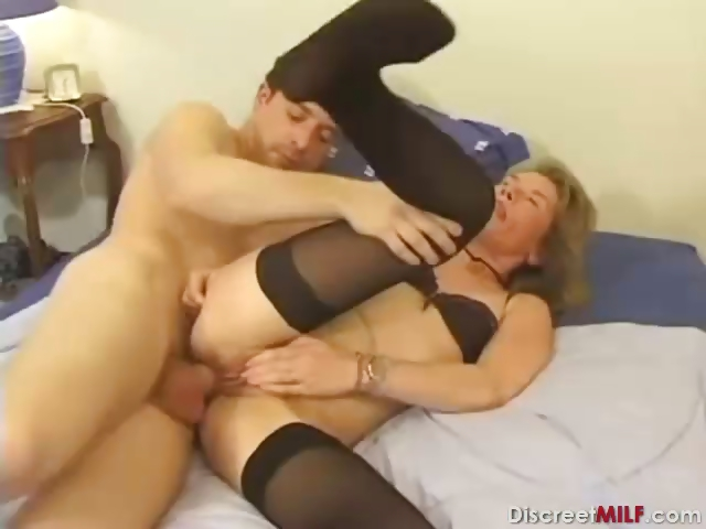Porn Tube of French Mom Deep Anal