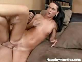 Porn Tube of Sweet Young Jennifer Dark Seduces A Married Man