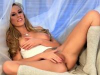 Brett slips out of her white panties and socks | Pornstar Video Updates