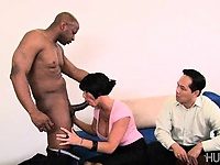 Hubby watches while black guy fucks wife | Pornstar Video Updates