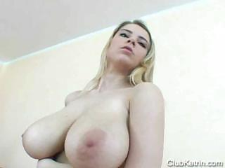 Sex Movie of Katrin Kozy Fucks Gold Dildo