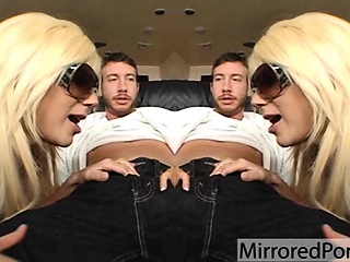 What in the fuck lol - mirrored porn video 2