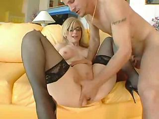 Sex Movie of Mature Slut Draining His Sack