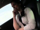 Stranded teen slut Lucia pussy banged in public place