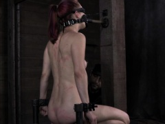 Muzzled sub whipped then cunt pleased by maledom | Very Hard Sex Updates