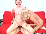 Amazing sluts are wild for some big and young cocks