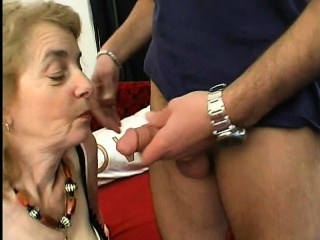 He fucks a grand mother in the ass