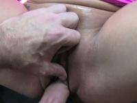 Hot candi shows her breasts for a free ride | Pornstar Video Updates