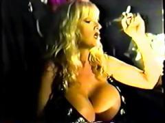 Sable Holiday Strip Club Big Tits Blonde