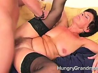 Hairy Granny Pussy Dicked