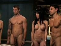 Nasty busty babes group sex in the jail cell and bedroom | Pornstar Video Updates