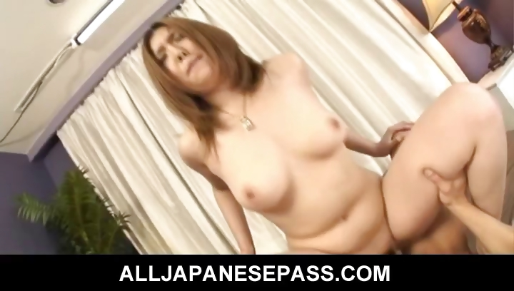 Porn Tube of Hairy Asian Beauty Bends Over For A Hard Bangin