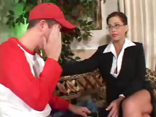 Sex Movie of Johnny Fucks His Teacher :)