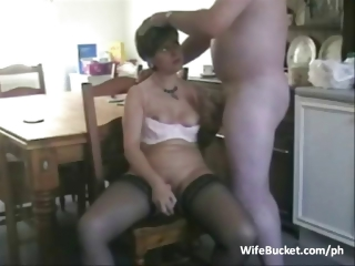 Middle aged pair private porn