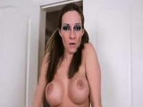 Dirty Mother With Big Breats Gets Undressed