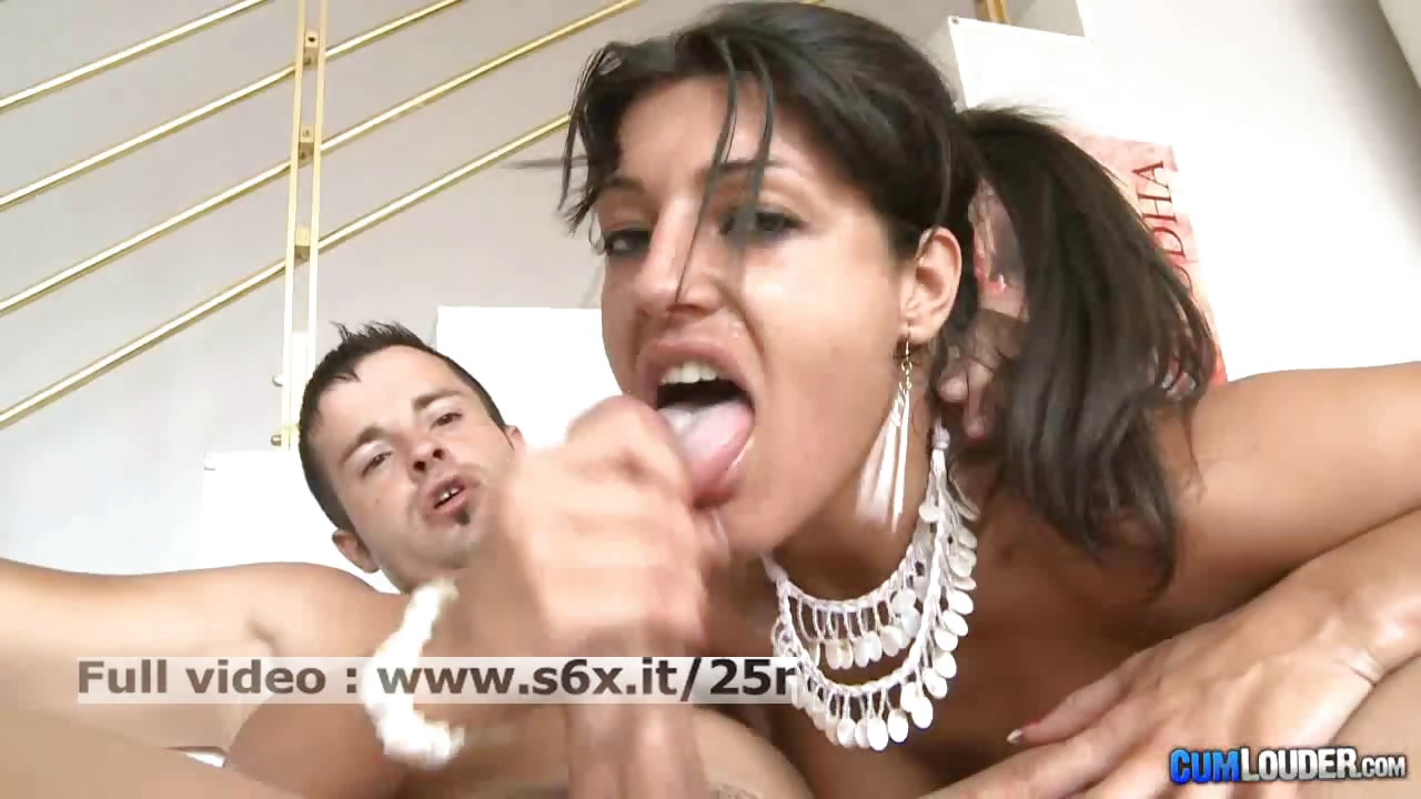 Porn Tube of Natalia Zeta _ Hot Brunette Sucking And Fucked Hard By A Big Cock
