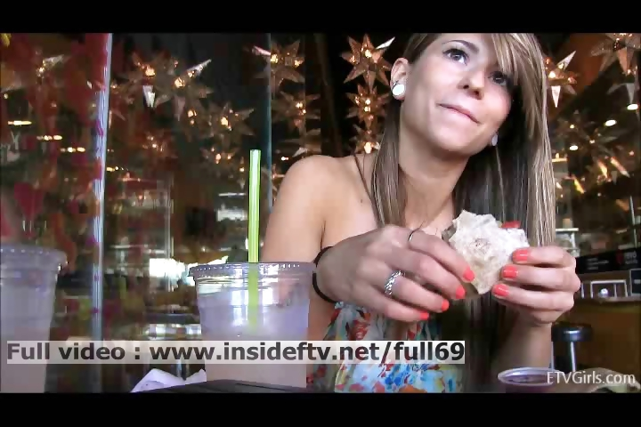 Porn Tube of Mali _ Amateur Babe Flashing Her Tits And Acting Naughty In Public