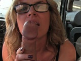Great ass mature banged in taxi milf reality