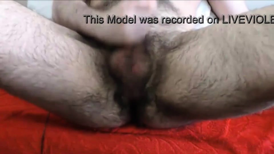 I a sexy hairy bear fingering furry asshole