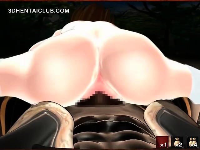 Hot hentai serf twat fucked by monster tentacles