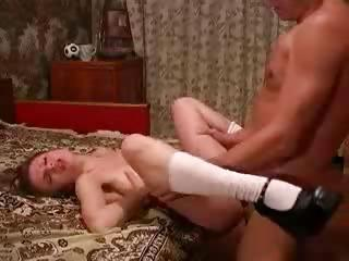 Porn Tube of Daughter Says ' Fuck My Hard Dad ' !