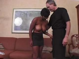 Sex Movie of Black  British Lady Gets Ass Fucked
