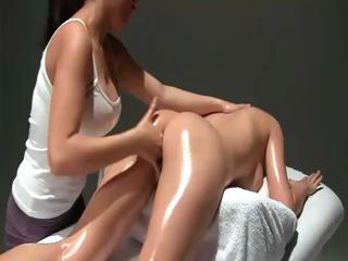 Porn Tube of Multi Orgasmic Erotic Massage With Oil