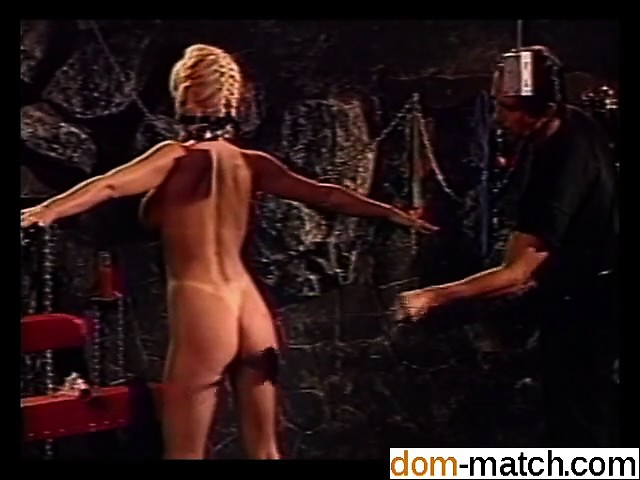 Hot orgy in the BDSM dungeon - She is on DOM-MATCH.COM