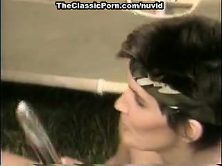Jamie Summers, Kim Angeli, Tom Byron in vintage porn video