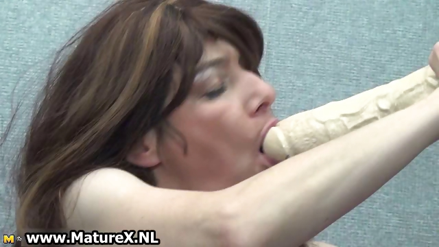 Porn Tube of Horny Mature Housewife Loves Fucking
