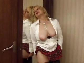 Sex Movie of French Mature Solo