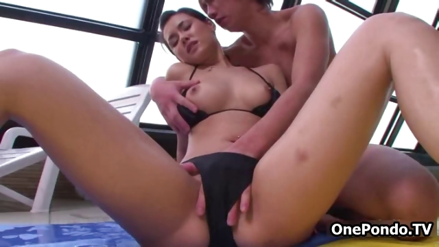 Porn Tube of Cute Asian Teen Babe Gets Her Tight