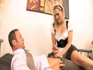 Porno Video of Hot Ass French Maid Fucks Her Boss
