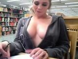 College Girl Library Masturbation