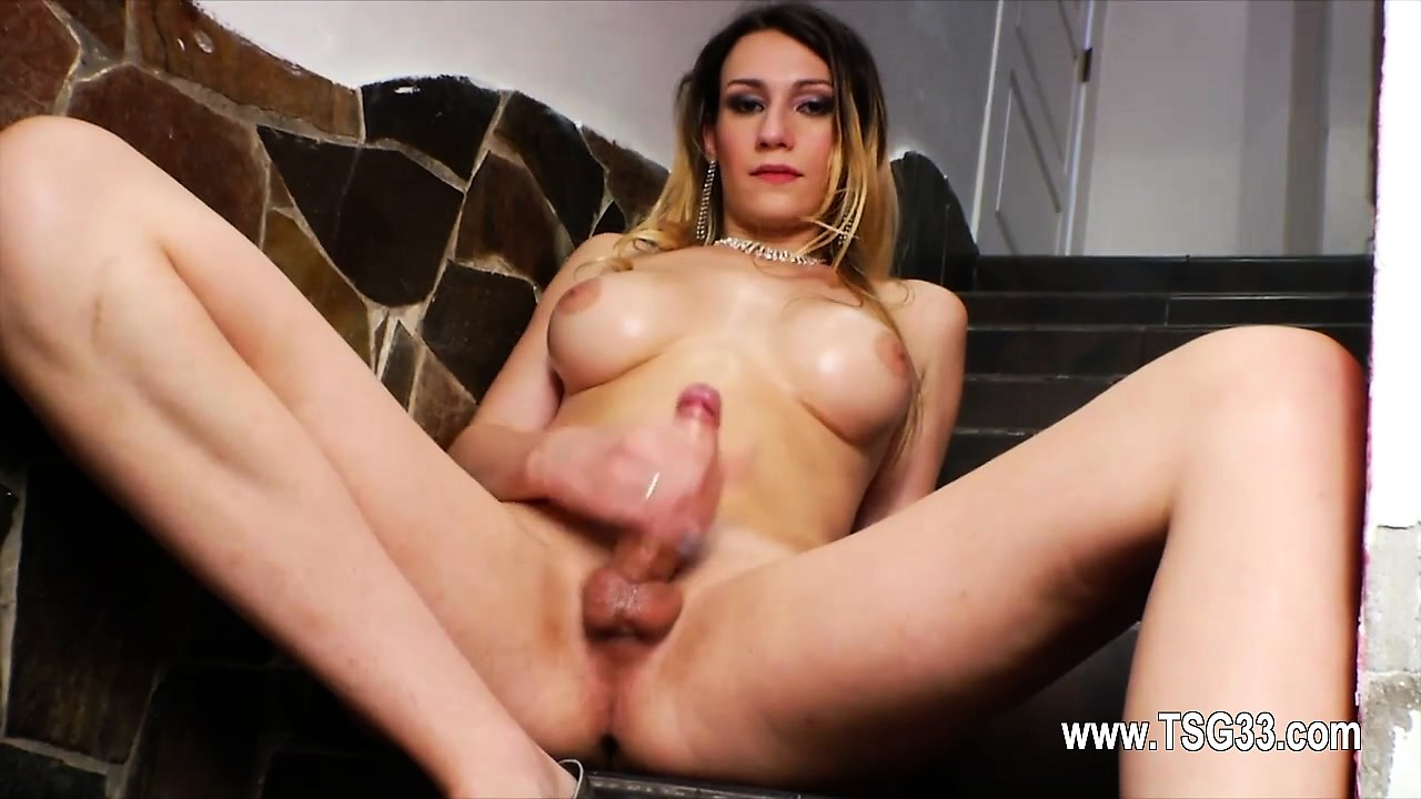 Big shemale butthole and brutal cock