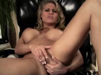 Blonde rubs her tits n twat | Pornstar Video Updates
