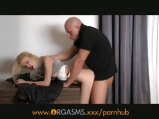 Porn Tube of Orgasms Fucked By A Stranger